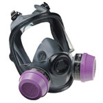 North Safety Products Low Maintenance Med/large Full Face Respirator