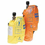 North Safety Products Escape Breathing Apparatus, 10-Minute, 42 LPM