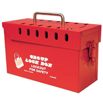 North Safety Products Lock Box Group 13 Lockstamp Pro