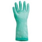 North Safety Products Nitri-guard Nitrile Gloves Green 15 Mil