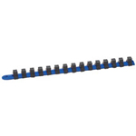 "Armstrong Tools 15"" Metric Blue Socket Rail"