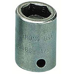 "Armstrong Tools 1/2"" Drive Power Socket 7/16"" 6 Point Standard B"