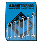 Armstrong Tools 7 Piece Fractional Reversible Geared Wrench Set