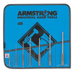 Armstrong Tools 7 Piece Roll Pin Punch Set