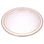 Cardinal International Red Reception Narrow Rim Plate, 9.25""