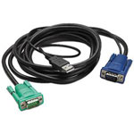 APC Keyboard / Video / Mouse (KVM) Cable - 25 Ft