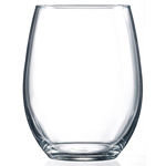 Cardinal International Stemless Wine Glass, 15 OZ, Case of 12