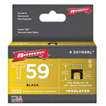 Arrow Fastener T59 Type Staples, 1/4""