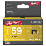 Arrow Fastener T59 Type Staples, 5/16""