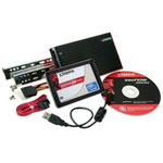 Kingston SSDNow M-Series Bundle Kit - solid state drive - 160 GB - SATA-300
