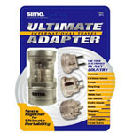 Sima Portable Plug Set for International Travel SIP-3 - power connector adapter kit