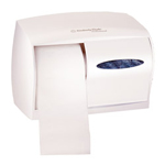 Kimberly-Clark WINDOWS® 09605 Coreless Double Roll Bath Tissue Dispenser