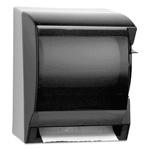 IN-SIGHT® LEV-R-MATIC® LEV-R-MATIC® Lever Action Hard Roll Paper Towel Dispenser, Smoke Gray