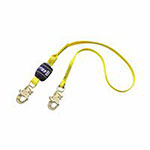 DBI/Sala EZ Stop Shock Absorbing Lanyard, 6 ft, Self-Locking, 310 lb Capacity, 1 Leg