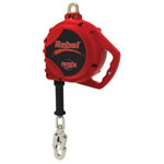Protecta Rebel Self-Retracting Lifeline, 50 ft, Self-Locking Snap, 420 lb Capacity, 1 Leg
