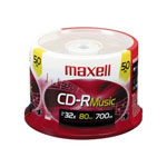 Maxell Music Gold - CD-R X 50 - 700 MB - Storage Media