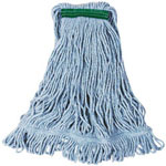 "Rubbermaid 1"" Headband Medium Blue Looped Mop"