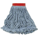 "Rubbermaid 5"" Headband Large Blue Looped Mop"