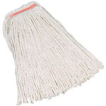 Rubbermaid 24 Ounce 4 Ply Cotton Mop with 1 Inch Headband
