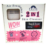 Fresh Products SSBTP12 Air Freshener and Skin Cleanser Kit with Fresh Air