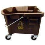 Continental 26 Quart Splash Guard™ Mop Bucket, Bronze