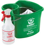San Jamar 4 Quart Kleen-Pail Caddy™, Green