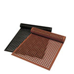 Axia Distribution Corp Anti-Fatigue Mat, 3' x 5', Red