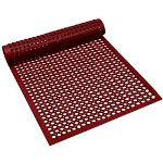 Axia Distribution Corp Economy Anti-Fatigue Mat, 3' x 5', Red