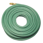 "Anchor Anchor 1/4"" x 50x1 Sgl Green Hose w/Argon Fittings"