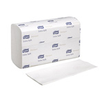 "Tork Xpress Premium Extra Soft Hand Towel, Interfold, 4-Panel, 2-Ply, 8.35"" x 13.4"", White"