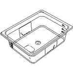 Rubbermaid 100P Cold Food Pan, 1/9 Size