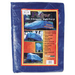 Tarps Multiple Use Tarpaulin, Polyethylene, 10 ft x 12 ft, Blue