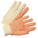 Anchor Anchor Cotton Canvas 10oz Glove w/Orange PVC Do