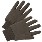 Anchor 4503 9 Oz Brown Jersey Cotton Glove