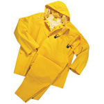Anchor Three-Piece Rain Suit, 5X-Large, 35 mil, PVC/Polyester