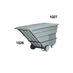 Rubbermaid 1046 Tilt Truck, Heavy-Duty
