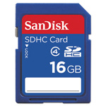 Sandisk Flash Memory Card - 16 GB - SDHC