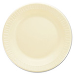 "Dart Container Foam Plate, 10 1/4"", Honey"