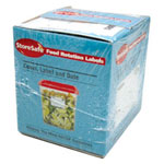 Cambro Dissolvable Food Labels
