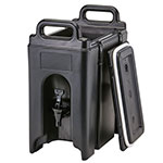 Cambro 2.5 Gallon Black Camtainer