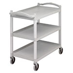 Cambro 400 Pound Speckled Gray Utility Cart