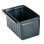 Cambro Black Silverware Holder