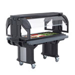 Cambro 6' Black Versa Food Bar