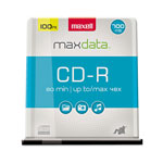 Maxell 100 x CD-R - 700 MB (80min) 48X - Spindle - Storage Media