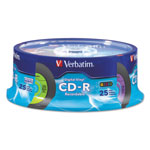 Verbatim Digital Vinyl - 25 x CD-R - 700 MB (80min) - Spindle - Storage Media