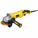 Dewalt Tools High Performance Angle Grinders, 5in/6in Dia, 13 A, 9,000 rpm, Trigger, ZipGrip TE2400 Adhesive, 1 oz, Bottle, Clear