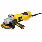 Dewalt Tools No Lock, High Performance Angle Grinders, 4.5in/5in, 13A, 11,000 rpm, Paddle Switch
