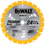 "Dewalt Tools 7-1/4"" 24t Series 20 Con"