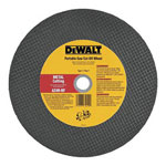 "Dewalt Tools 14"" x 5/32"" x 20 mm Metal Portable Saw Cut-off Wheel"