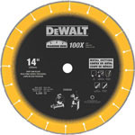"Dewalt Tools DIAMOND EDGE CHOP SAW BLADE 14"" X 1"""